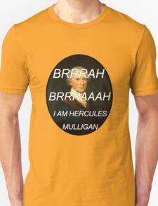 Hercules Mulligan Hamilton Musical Unisex T-Shirt