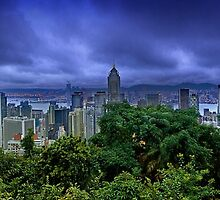 Monsoon Dawn over the Pearl River by Delfino