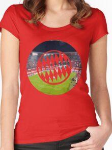 BAYERN MUNCHEN - ALLIANZ ARENA Women's Fitted Scoop T-Shirt