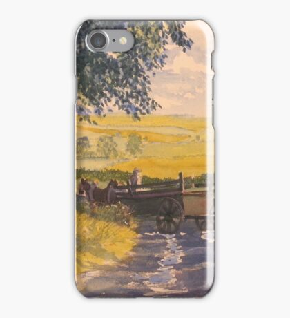 After Rain on the Wolds Way iPhone Case/Skin