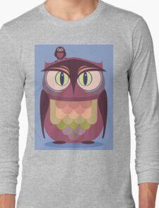 THE SAT UPON OWL Long Sleeve T-Shirt