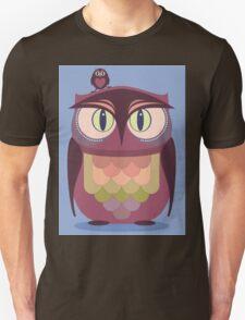 THE SAT UPON OWL Unisex T-Shirt