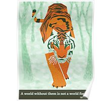 Tiger Conservation Poster