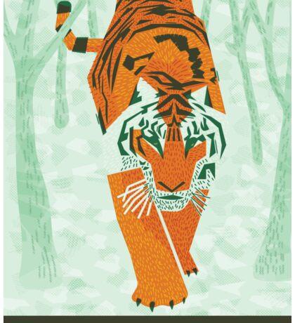 Tiger Conservation Sticker