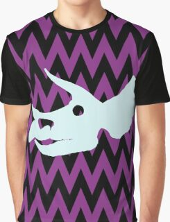 Triceratops Skull Graphic T-Shirt