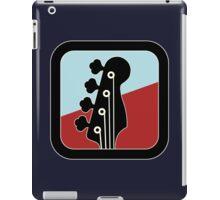 Cool Bass Guitar Sign iPad Case/Skin