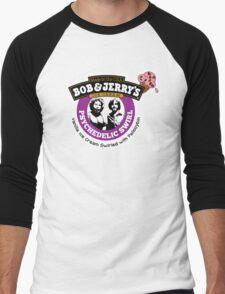 Bob and Jerry's Men's Baseball ¾ T-Shirt