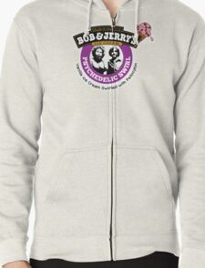 Bob and Jerry's Zipped Hoodie