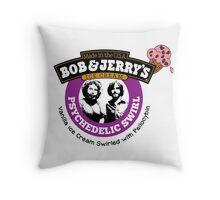 Bob and Jerry's Throw Pillow
