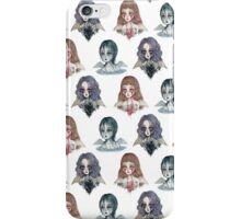 Weeping Angels pattern iPhone Case/Skin