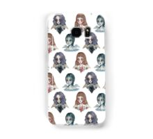Weeping Angels pattern Samsung Galaxy Case/Skin