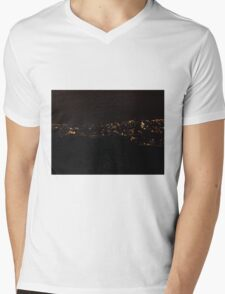 Cork, St Patrick's Hill, View from Top Mens V-Neck T-Shirt