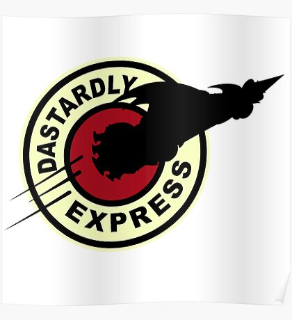 Dastardly & Muttley Express Poster