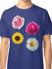Flowers Set Classic T-Shirt