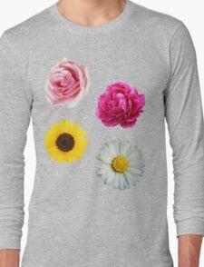 Flowers Set Long Sleeve T-Shirt