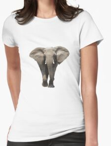 Elephant! Womens Fitted T-Shirt
