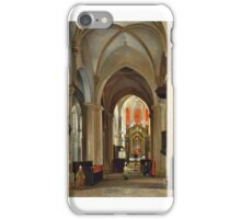 Pierre-Justin Ouvrié - Prayers at the Altar  iPhone Case/Skin