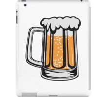 Drinking beer thirst handle booze iPad Case/Skin