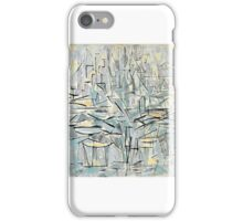 PIET MONDRIAN - Composition No. XVI, Composition  iPhone Case/Skin