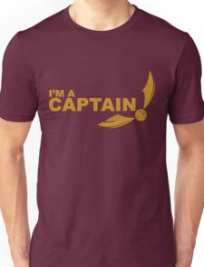 I'm a Captain - Yellow ink Unisex T-Shirt