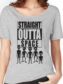 Straight outta space Women's Relaxed Fit T-Shirt