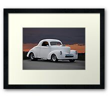 1941 Willys Coupe Framed Print