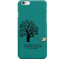 If an Acorn falls in the Forest.... iPhone Case/Skin
