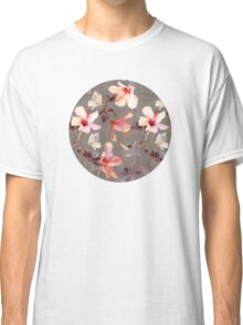 Coral Hibiscus Classic T-Shirt