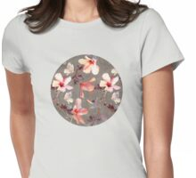 Coral Hibiscus T-Shirt