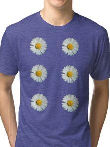 Six white daisies Tri-blend T-Shirt