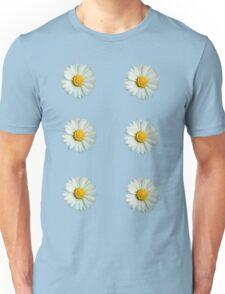 Six white daisies Unisex T-Shirt
