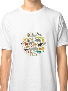 African animals Classic T-Shirt