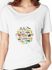 African animals Women's Relaxed Fit T-Shirt