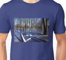 On Frozen Pond Unisex T-Shirt