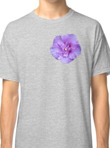 Purple hibiscus flower Classic T-Shirt