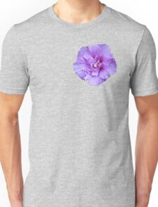 Purple hibiscus flower Unisex T-Shirt
