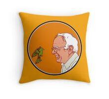 bernie Birds Throw Pillow