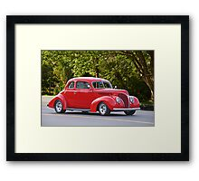 1938 Ford Deluxe Coupe Framed Print