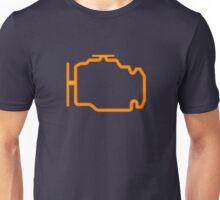 Check Engine Warning light Unisex T-Shirt