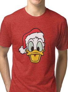 Donald Duck Chrismas Edition Tri-blend T-Shirt