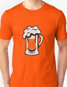 Drinking beer thirst handle Unisex T-Shirt