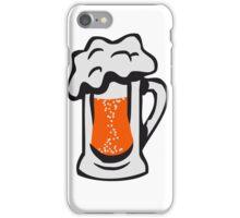 Drinking beer thirst handle iPhone Case/Skin