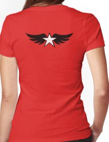 Spread the Wings Womens Fitted T-Shirt