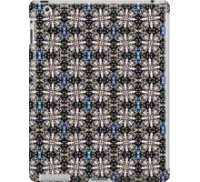 Seamless pattern of lines and girder shapes. iPad Case/Skin