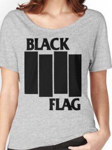 black flag logo Women's Relaxed Fit T-Shirt