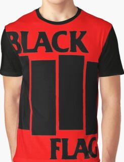 black flag logo Graphic T-Shirt