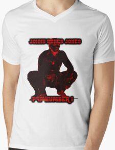 jonny bones jones p4p no. 1 Mens V-Neck T-Shirt