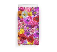 flower bed Duvet Cover