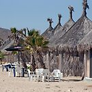 Thatched Cabanas by phil decocco