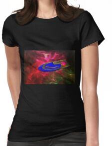 A Plasma (antimatter) Drive Solar System Cruiser Womens Fitted T-Shirt